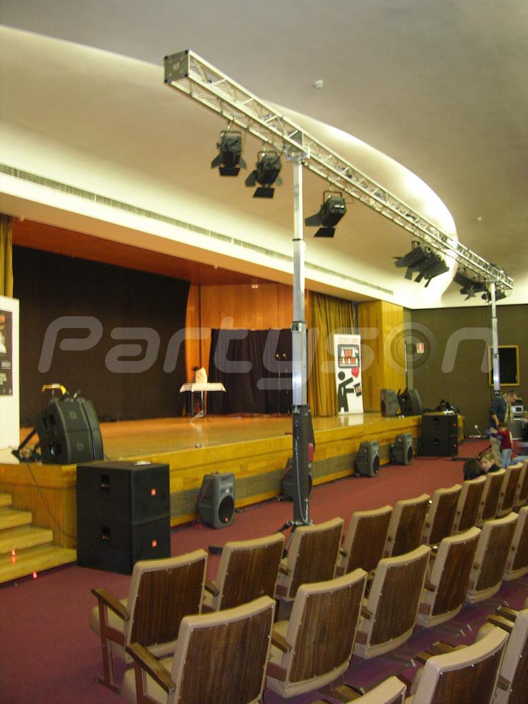 Salón de actos de la Fundación San Pablo CEU
